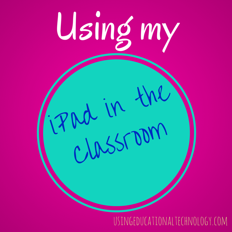 How to Use 1 iPad in the Classroom