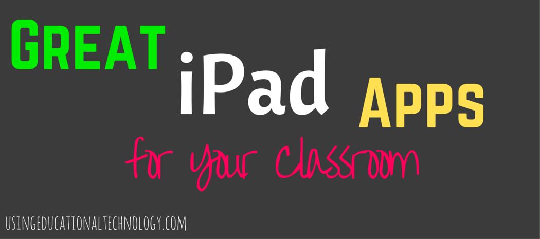 Essential iPad Apps!