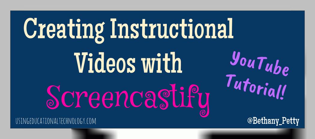 Using Screencastify with Chromebooks
