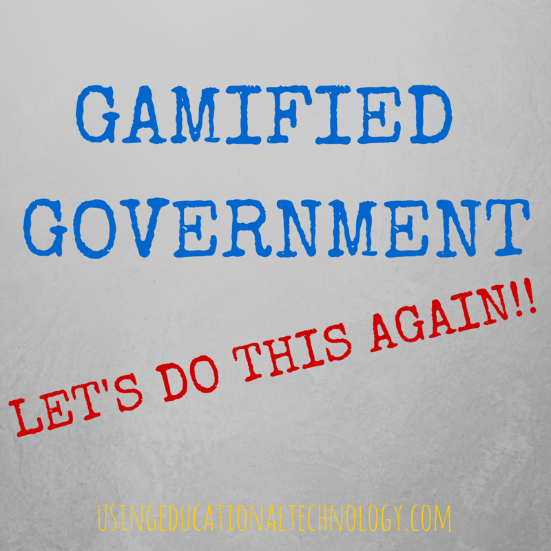 Gamified Government: Mission Accomplished!