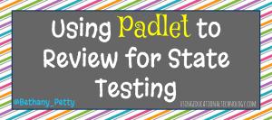 padlet state testing