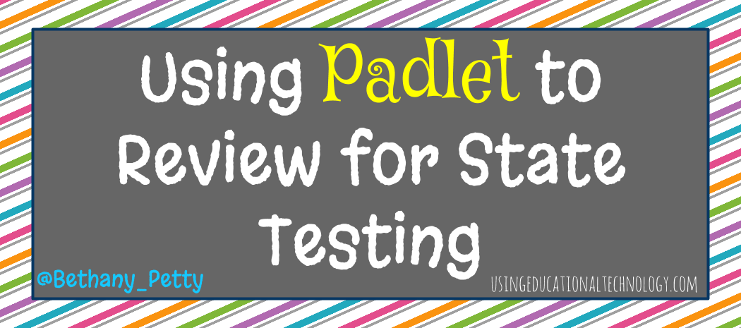 Padlet Review Activity