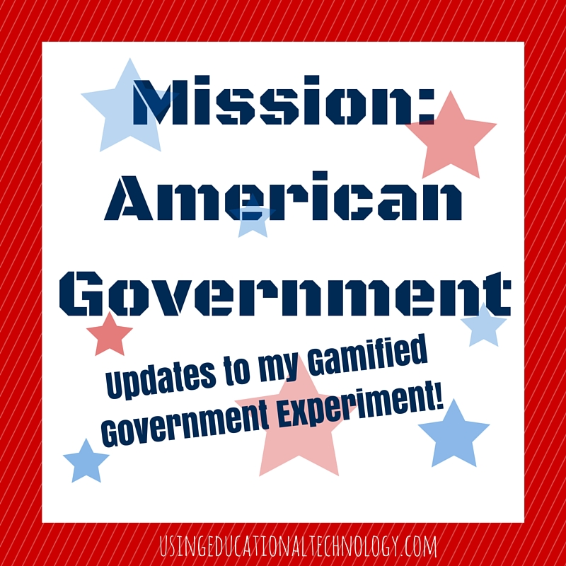 Gamification in American Government