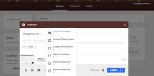 Google Classroom October 2