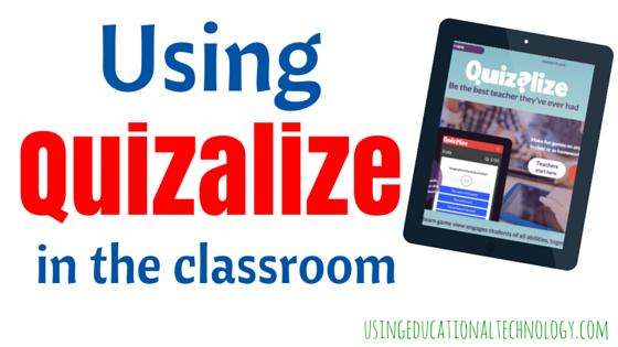 How to Use Quizalize to Review with Your Students