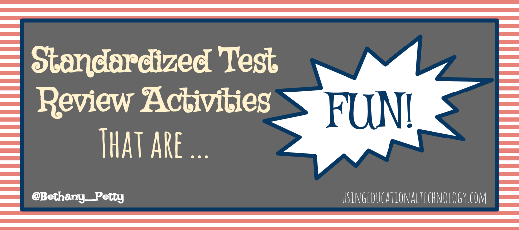 Standardized Test Reviews That Are FUN!