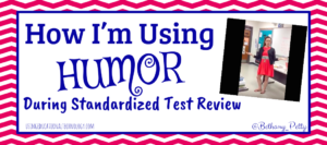 humor during standardized testing