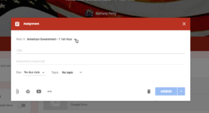 Google Classroom August 1