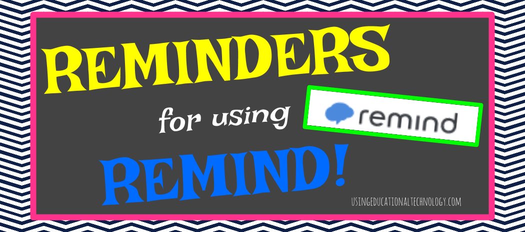 Reminders for Remind!