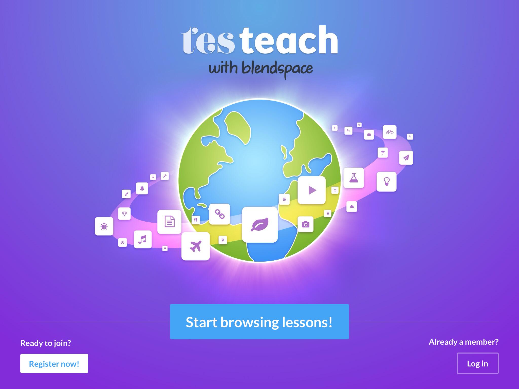 ae5775a314 TES Teach Blendspace App - Teaching with Technology