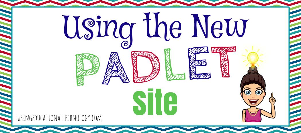 Navigating the New Padlet Site