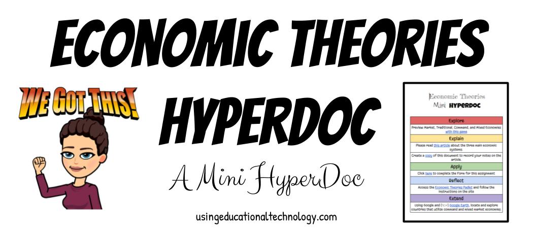 Economic Theories Mini HyperDoc