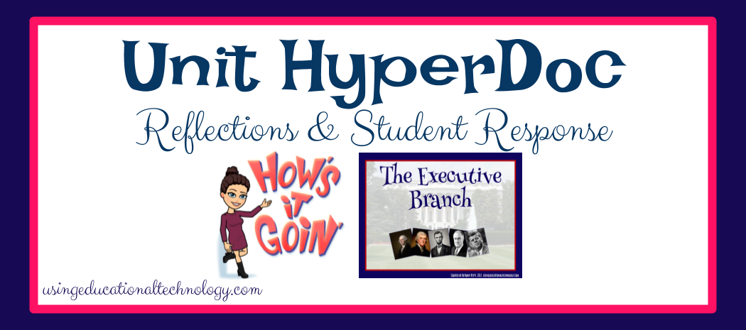I Made A HyperDoc for an Entire Unit – What My Students Had to Say