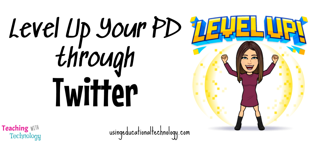 Level Up Your PD through Twitter!