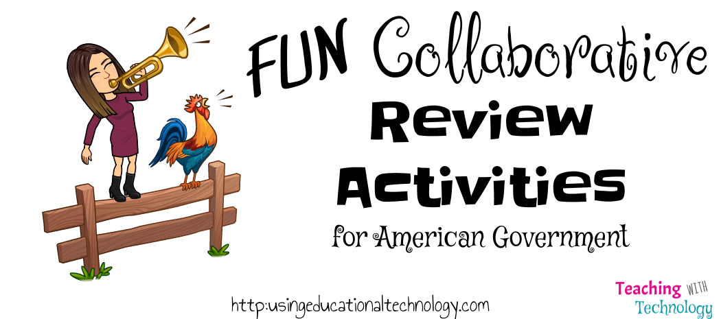 Collaborative American Government Review Activities
