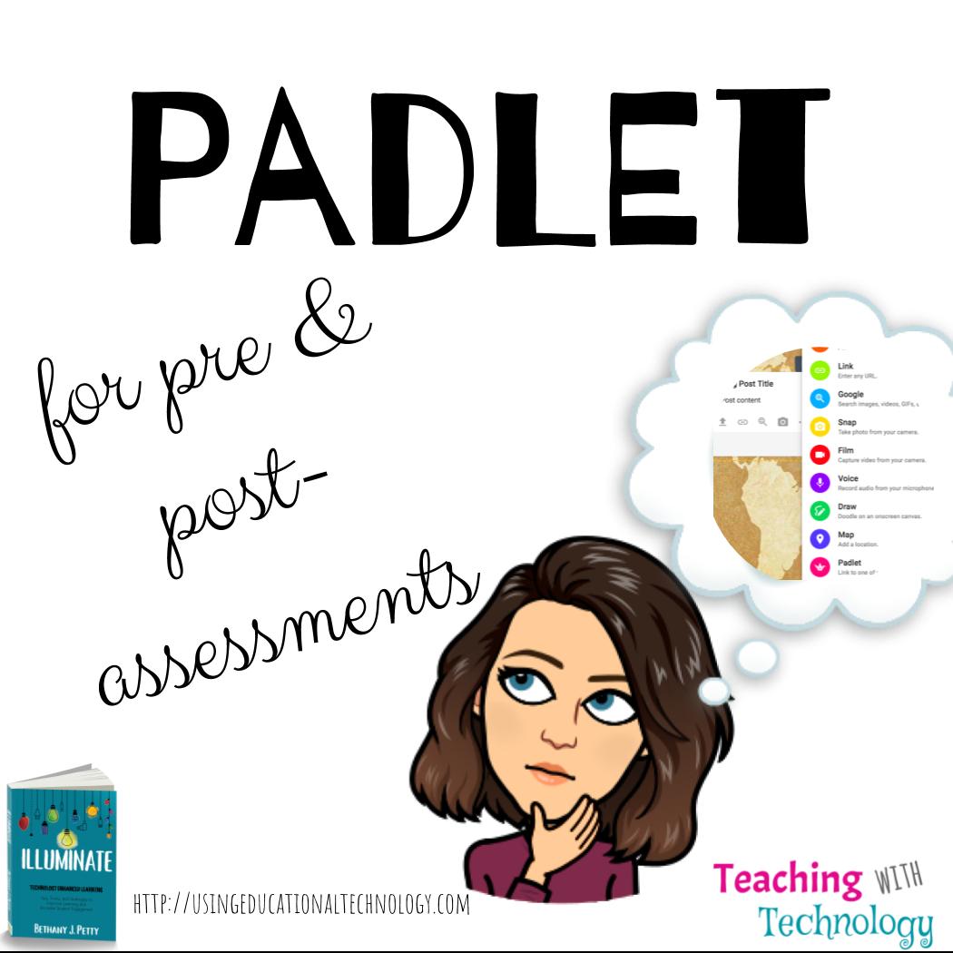 Using Padlet for Pre-Assessments