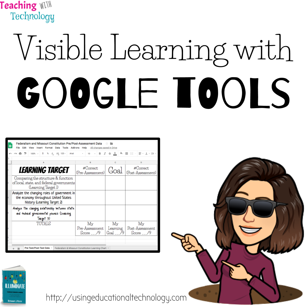 Visible Learning: Charting Pre & Post-Assessments with Google