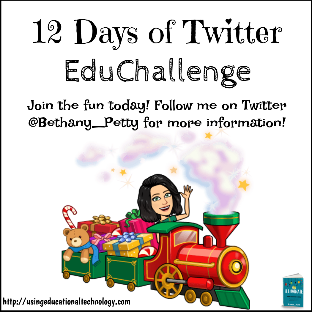 #12DaysofTwitter – Expand your PLN with Twitter