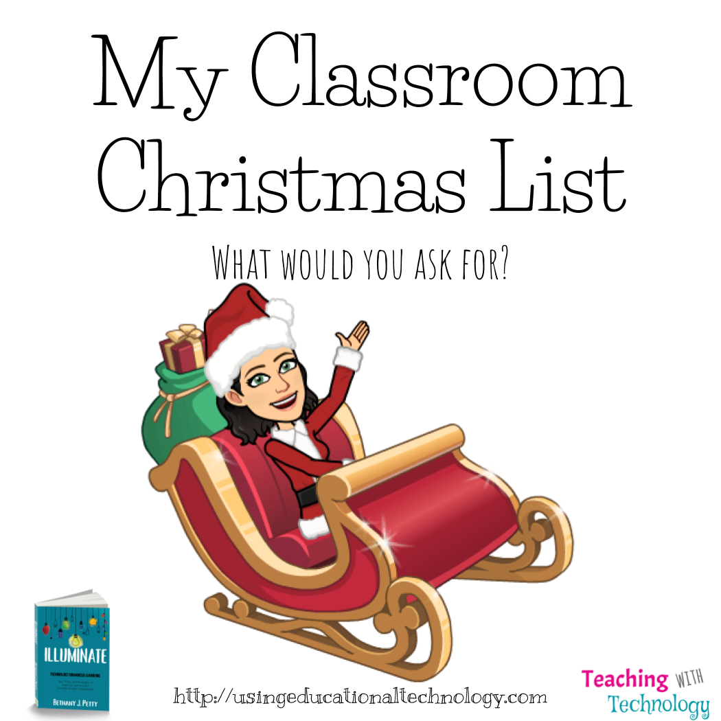 What's On Your Classroom Christmas List?