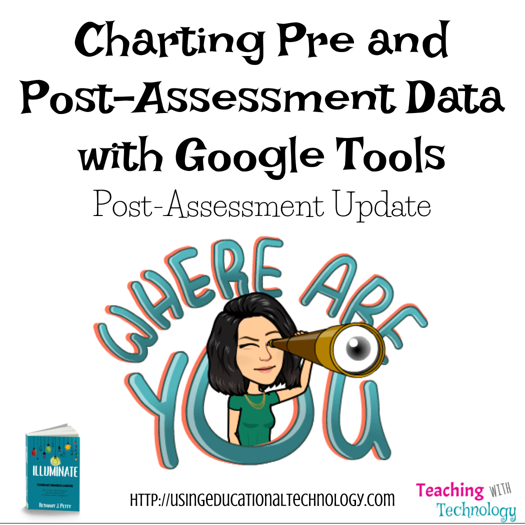 Charting Pre and Post-Assessment Data – Update