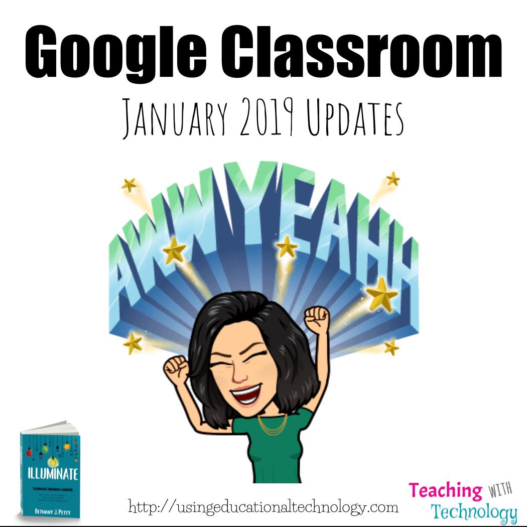 Thank you, Google Classroom!