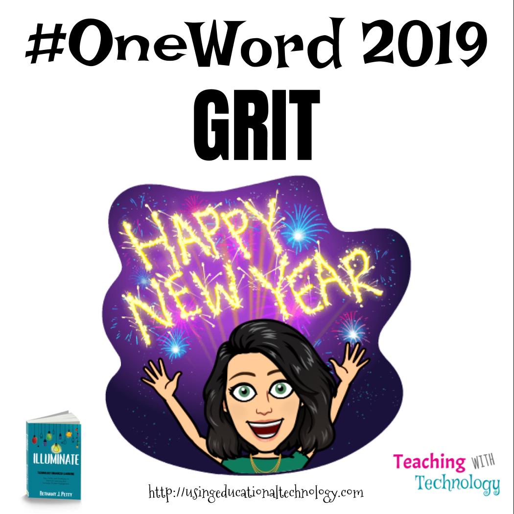 Happy 2019! #OneWord Challenge
