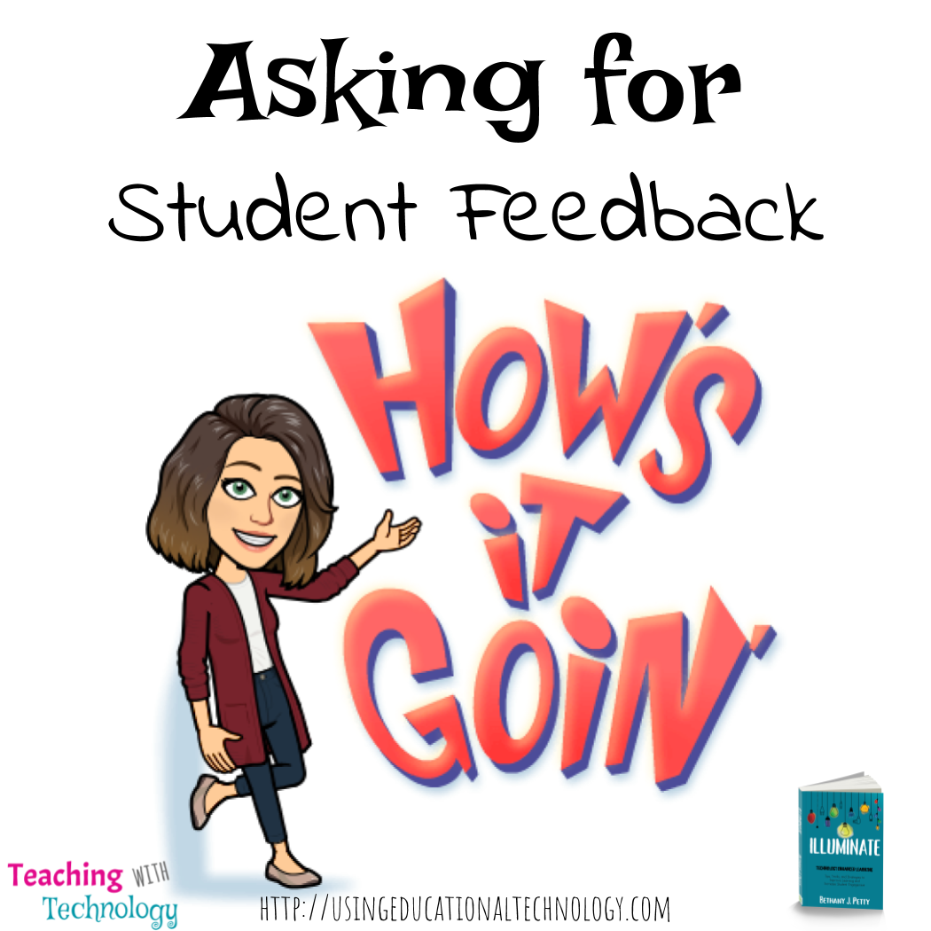 Asking for Student Feedback