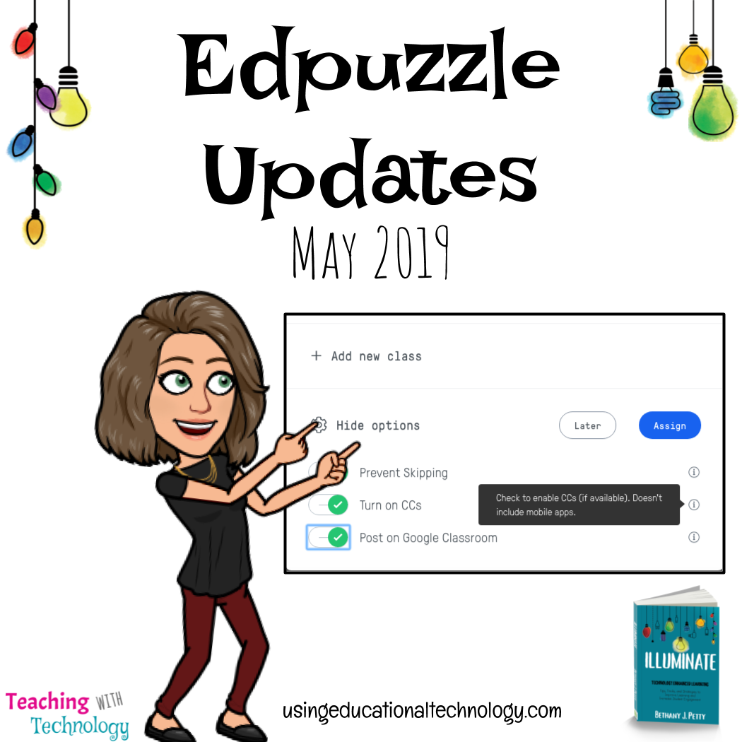Edpuzzle Updates – May 2019