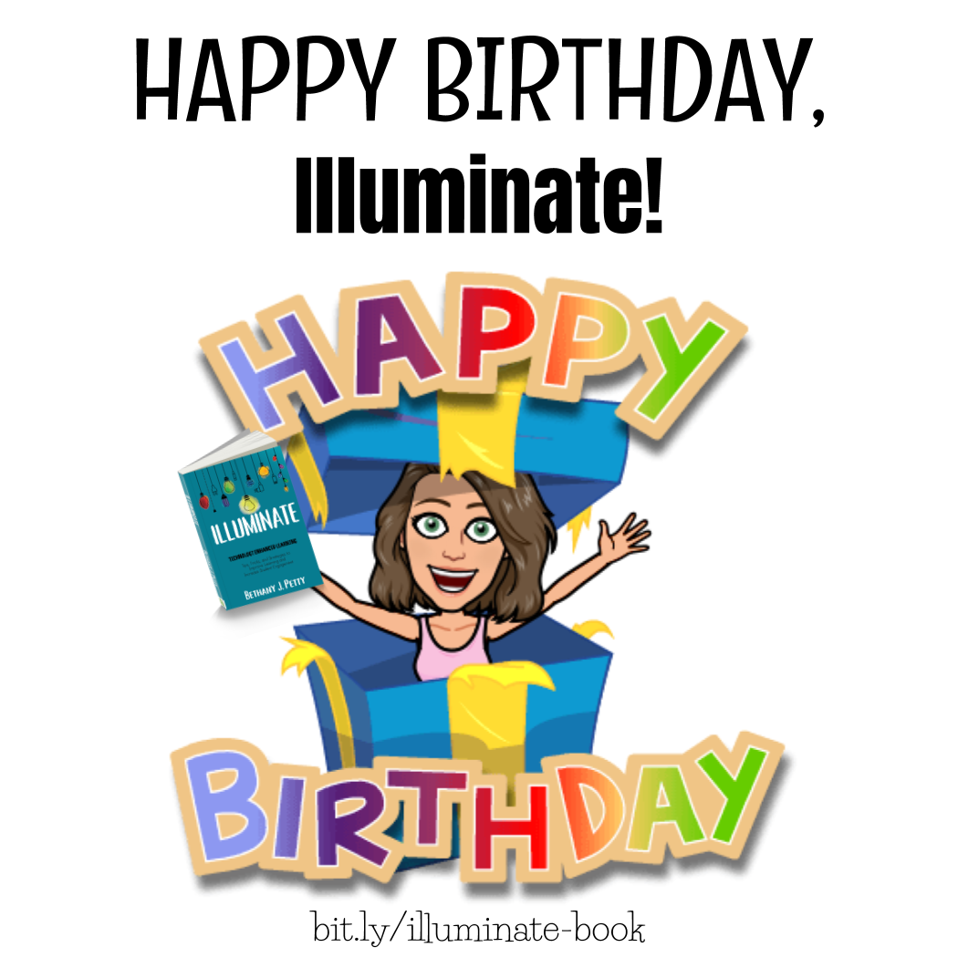 Happy Birthday, Illuminate!