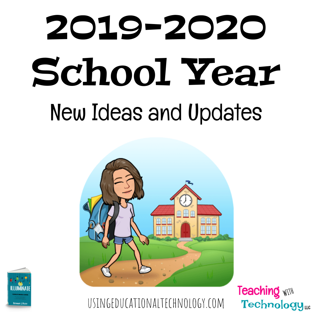 Reflection and Planning for 2019 – Changes for the New School Year