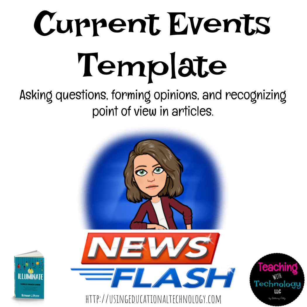 Current Events Article Template