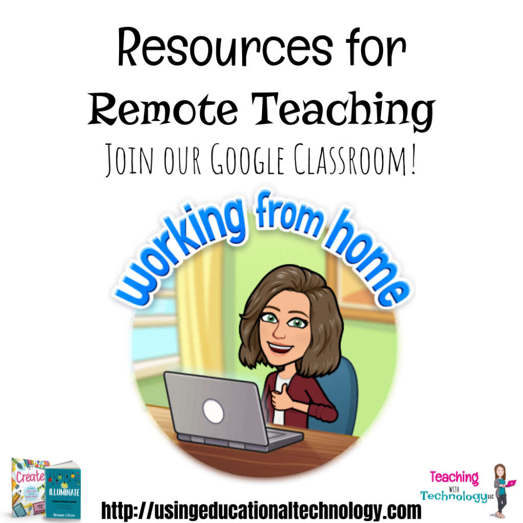 Remote Teaching Resources through Google Classroom