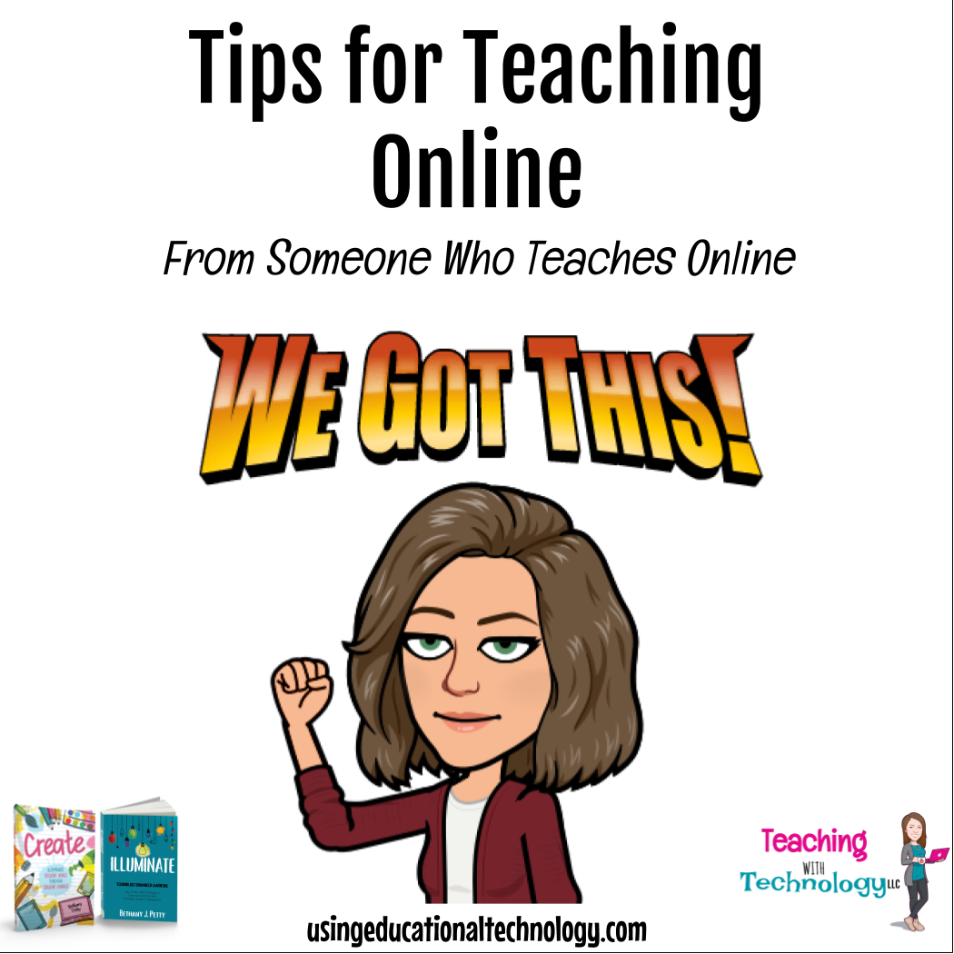Tips for Teaching Online – From Someone Who Teaches Online