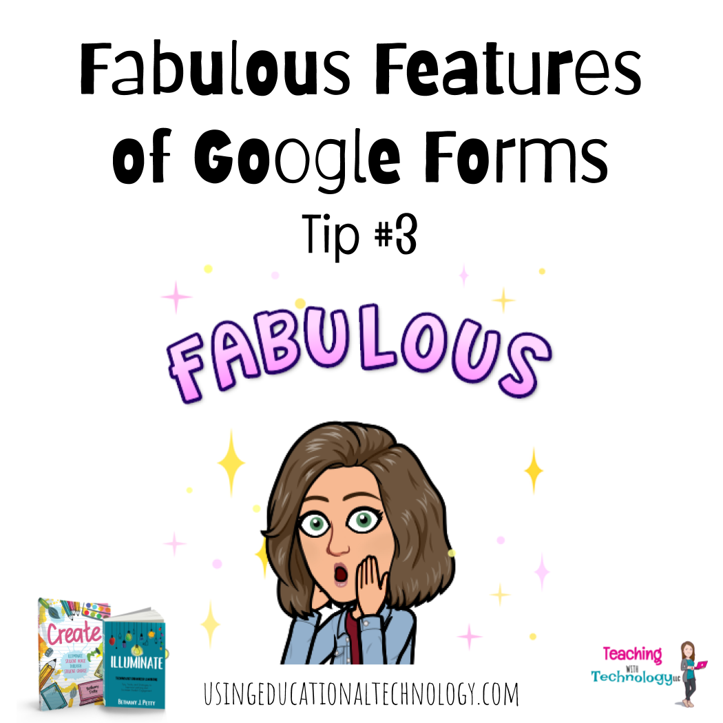 Great Features of Google Forms #3