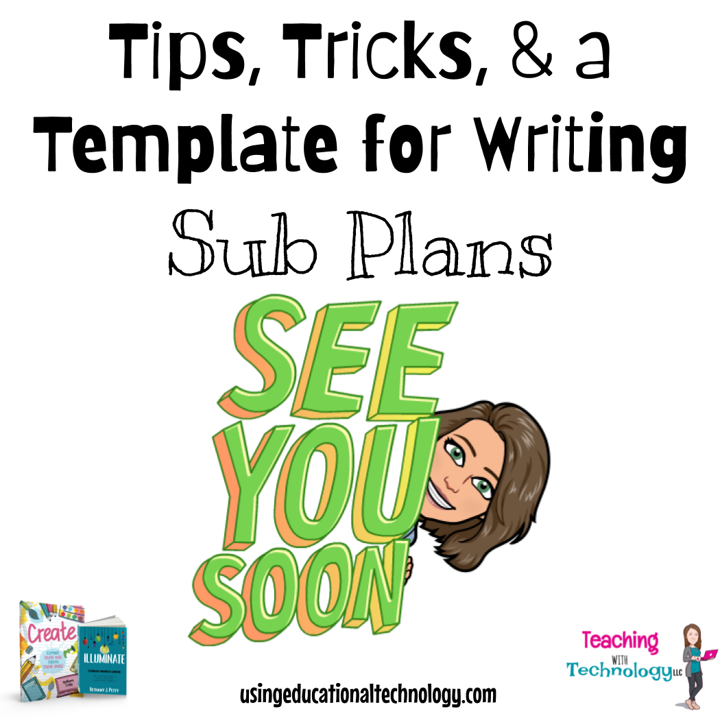 Easy Tricks and a Template for Sub-Plans